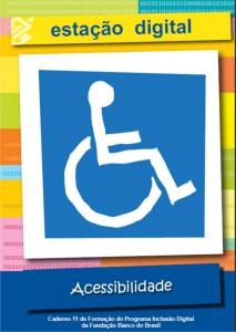 Imagem da capa da cartilha sobre acessibilidade
